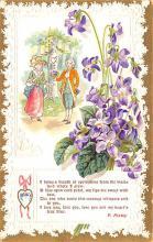 val200411 - Valentines Day Post Card Old Vintage Antique Postcard