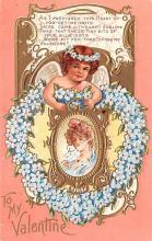 val200439 - Valentines Day Post Card Old Vintage Antique Postcard