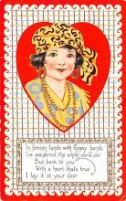 val200451 - Valentines Day Post Card Old Vintage Antique Postcard