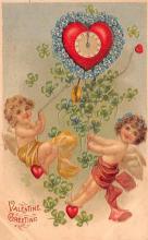 val200459 - Valentines Day Post Card Old Vintage Antique Postcard