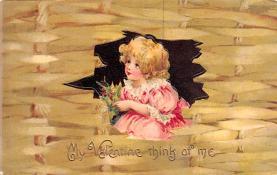 val200461 - Valentines Day Post Card Old Vintage Antique Postcard