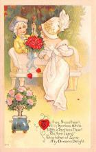 val200471 - Valentines Day Post Card Old Vintage Antique Postcard