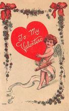 val200477 - Valentines Day Post Card Old Vintage Antique Postcard