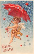 val200529 - Valentines Day Post Card Old Vintage Antique Postcard