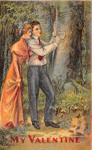 val200533 - Valentines Day Post Card Old Vintage Antique Postcard