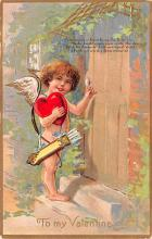 val200545 - Valentines Day Post Card Old Vintage Antique Postcard