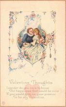 val200549 - Valentines Day Post Card Old Vintage Antique Postcard