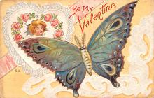 val200561 - Valentines Day Post Card Old Vintage Antique Postcard