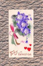 val200567 - Valentines Day Post Card Old Vintage Antique Postcard