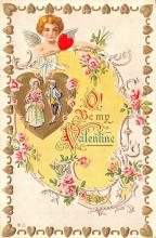 val200597 - Valentines Day Post Card Old Vintage Antique Postcard