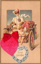 val200641 - Valentines Day Post Card Old Vintage Antique Postcard