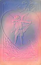 val200645 - Valentines Day Post Card Old Vintage Antique Postcard