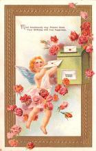 val200649 - Valentines Day Post Card Old Vintage Antique Postcard
