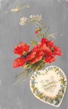 val200665 - Valentines Day Post Card Old Vintage Antique Postcard