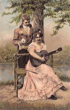 val200667 - Valentines Day Post Card Old Vintage Antique Postcard