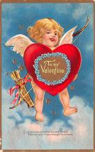 val200681 - Valentines Day Post Card Old Vintage Antique Postcard