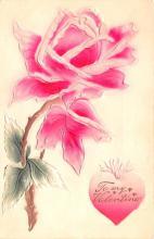 val200683 - Valentines Day Post Card Old Vintage Antique Postcard