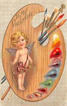 val200685 - Valentines Day Post Card Old Vintage Antique Postcard