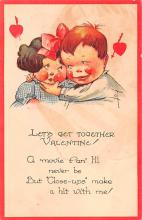 val200737 - Valentines Day Post Card Old Vintage Antique Postcard