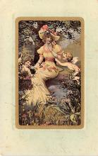 val200741 - Valentines Day Post Card Old Vintage Antique Postcard