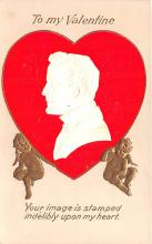 val200757 - Valentines Day Post Card Old Vintage Antique Postcard