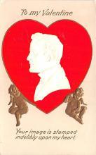 val200761 - Valentines Day Post Card Old Vintage Antique Postcard