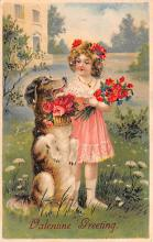 val200781 - Valentines Day Post Card Old Vintage Antique Postcard