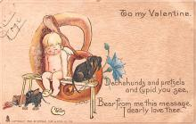 val200789 - Valentines Day Post Card Old Vintage Antique Postcard