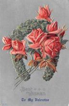 val200851 - Valentines Day Post Card Old Vintage Antique Postcard