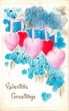 val200855 - Valentines Day Post Card Old Vintage Antique Postcard