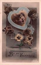 val200871 - Valentines Day Post Card Old Vintage Antique Postcard