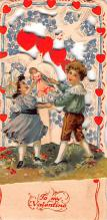 val200873 - Valentines Day Post Card Old Vintage Antique Postcard