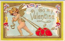 val300017 - To my Valentine Postcard