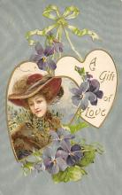 val300019 - A gift of Love Postcard