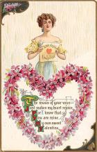 val300021 - Love Song to My Valentines Postcard