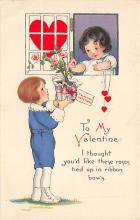 val300027 - To my Valentine Postcard