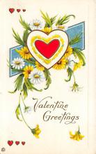 val300033 - Valentine Greetings Postcard