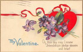 val300053 - My Valentine Valentines Day Postcard