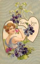 val300057 - True Love Postcard