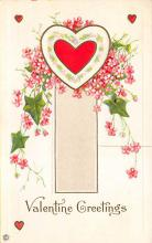 val300081 - Valentine Greetings Postcard
