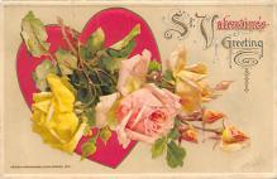 val300089 - Valentines Greeting Postcard