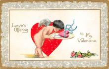 val300103 - To my Valentine Postcard