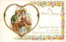 val300107 - My Hearts Dearest Postcard