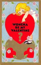 val300119 - Valentines Day Post Card