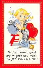 val300123 - Valentines Day Post Card