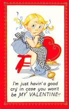 val300129 - Valentines Day Post Card