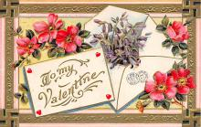 val300133 - To My Valentine Postcard