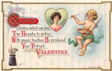 val300135 - Cupid Valentines Day Postcard