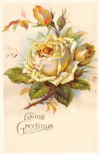 val300141 - Rose, Loving Greetings Postcard