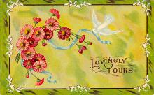val300165 - Lovingly Yours Valentines Day Postcard